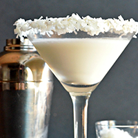 Coconut Cream Martini