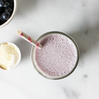Blueberry-Maple Shake