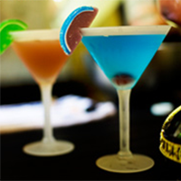 Tiffany Blue Martini
