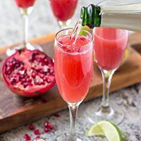 Mexican Pom Mimosas